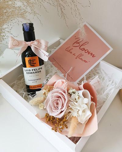Mini Wine Love Box (Pink)