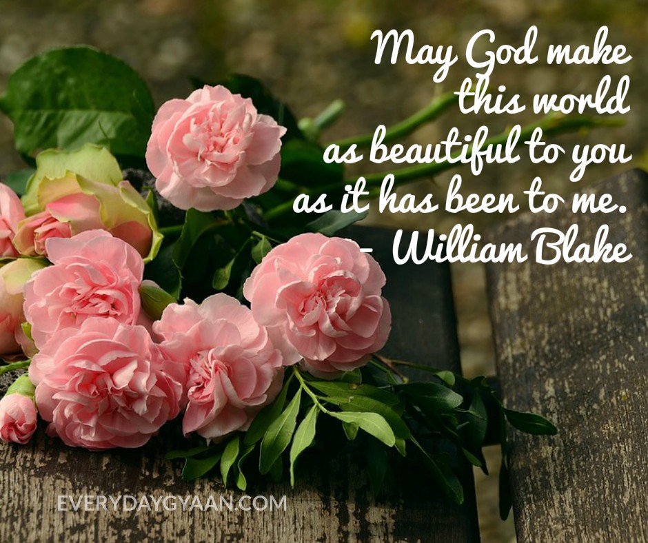 May God Make This World As Beautiful To You