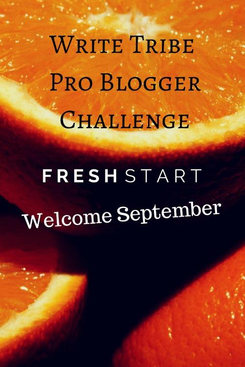 Welcome September! Fresh Start!