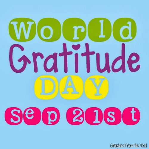 World Gratitude Day 2014