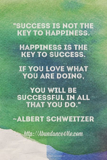Success Or Happiness?