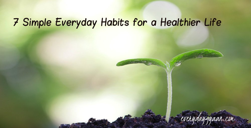 7 Simple Everyday Habits for a Healthier Life