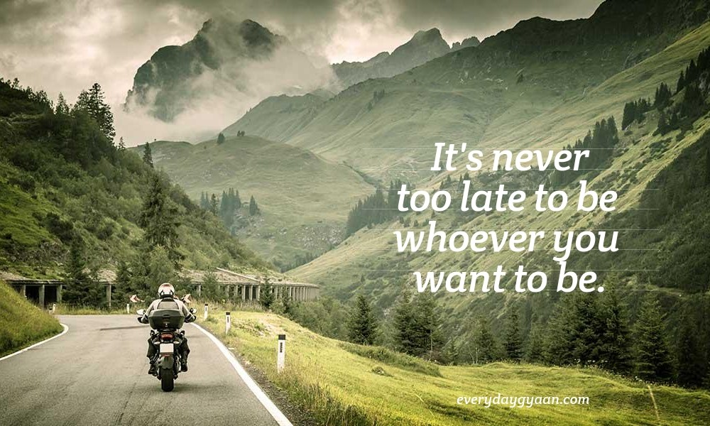 It's Never Too Late #MondayMusings #MondayBlogs