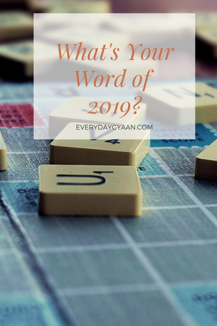 What\'s Your Word of 2019 ?#woty #woty2019