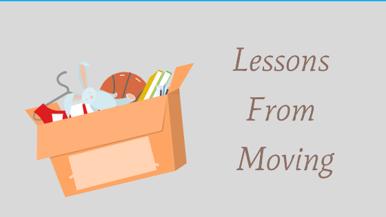 Lessons From Moving