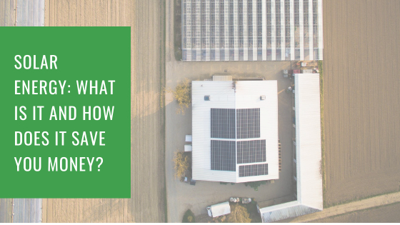 Solar Energy: What Is It And How Does It Save You Money?