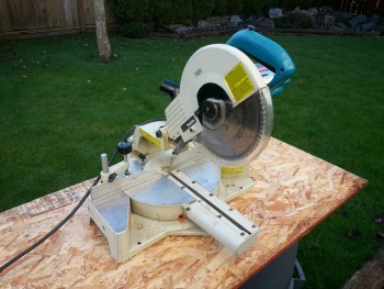used Makita mitre saw