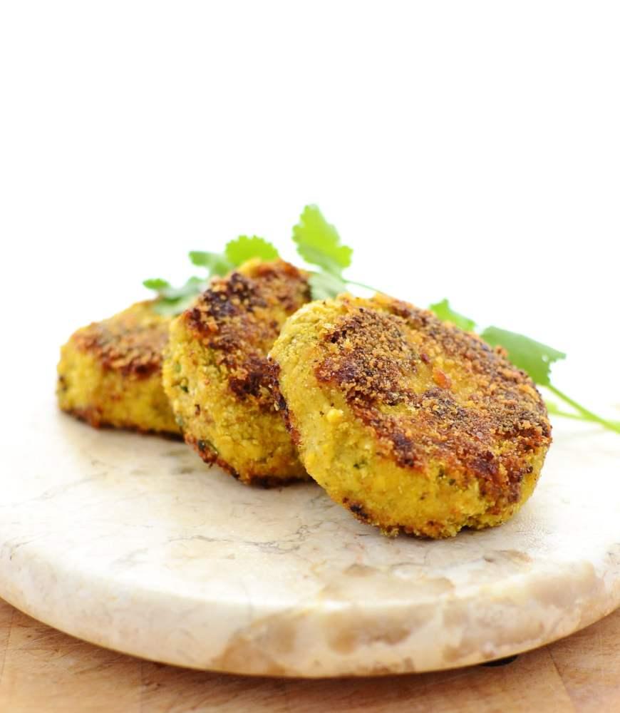 Cauliflower Rice Cheese Patties
