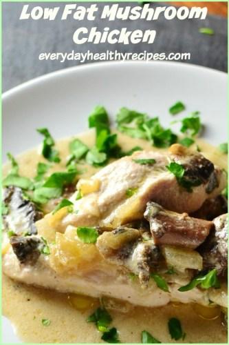 Low Fat Easy Chicken and Mushroom Casserole