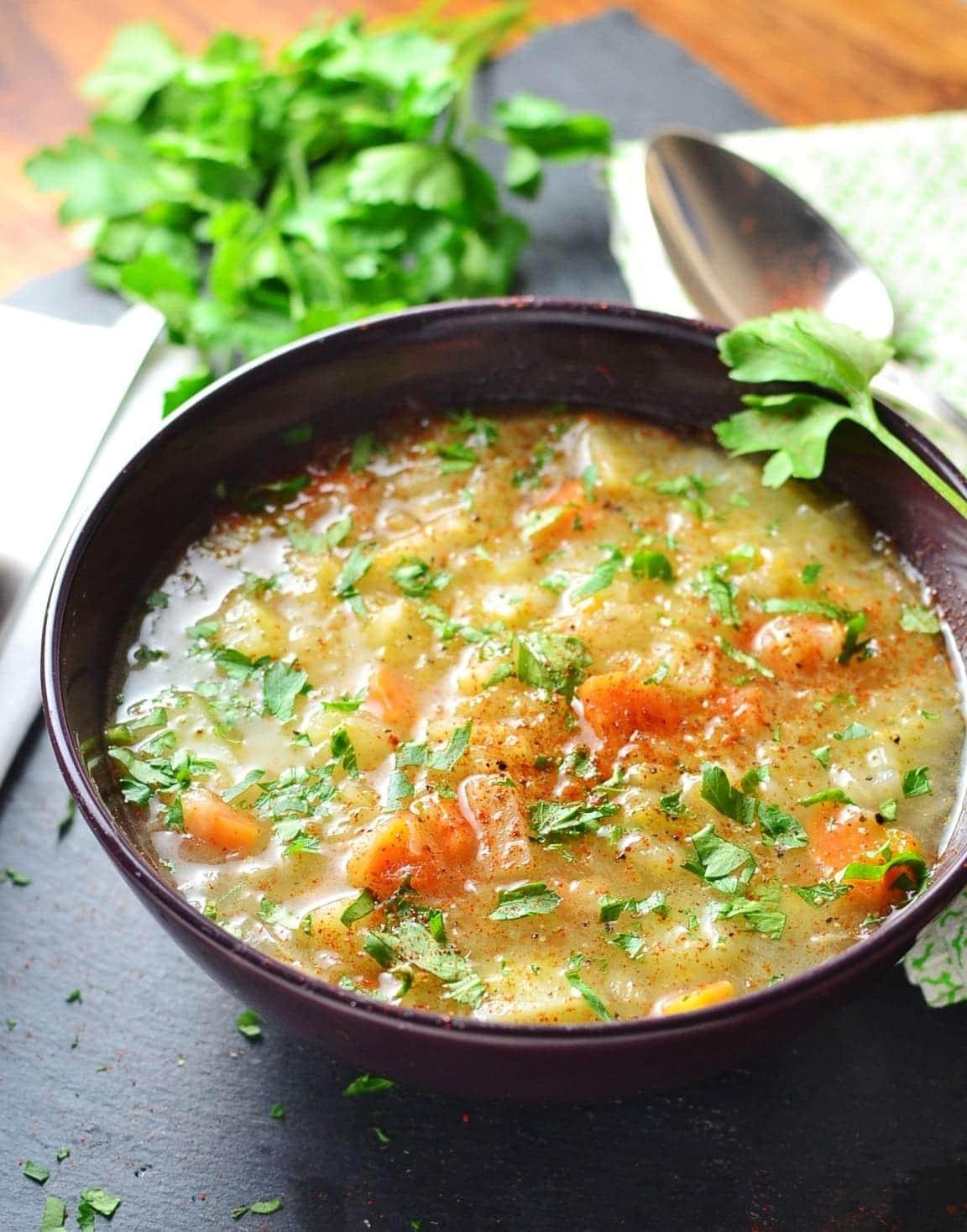 Polish Sauerkraut Vegetable Kapusniak Soup Everyday Healthy Recipes
