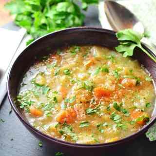 Sauerkraut Vegetable Kapusniak Soup