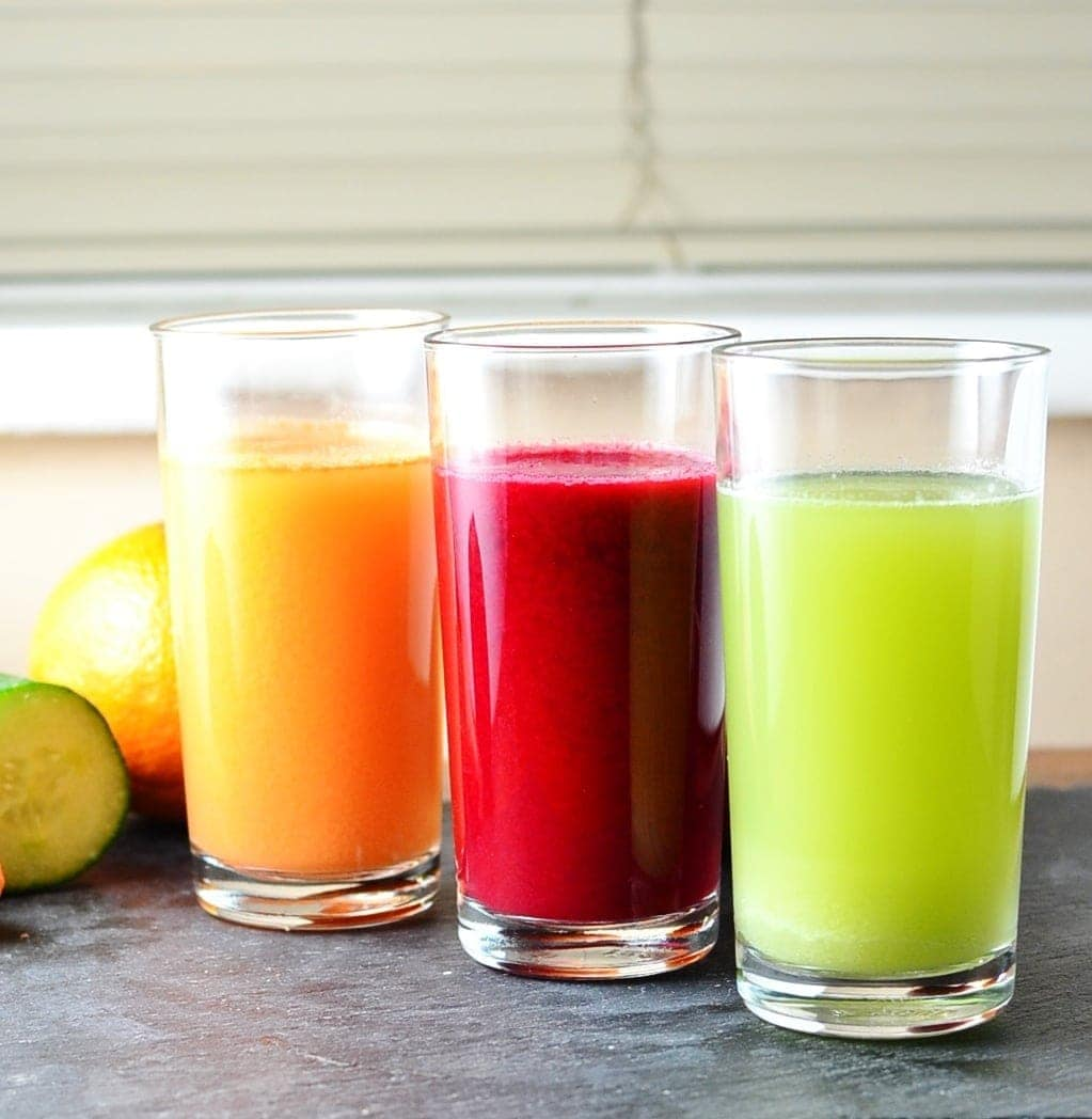 Cabbage Juice 3 Ways