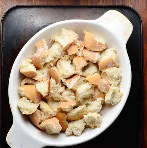Healthy Banana French Toast Casserole