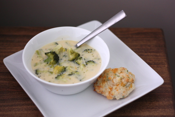 Broccoli & Cheddar Cheese Soup