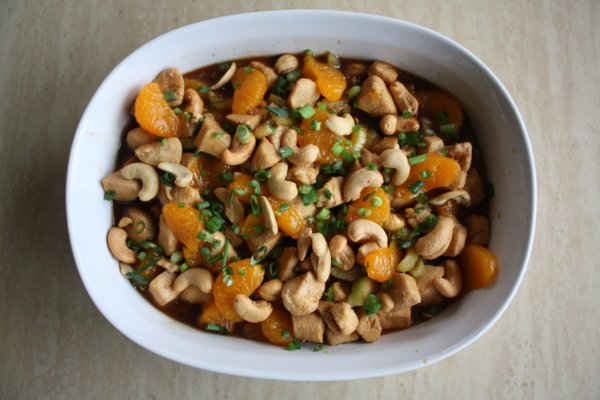Orange Cashew Chicken