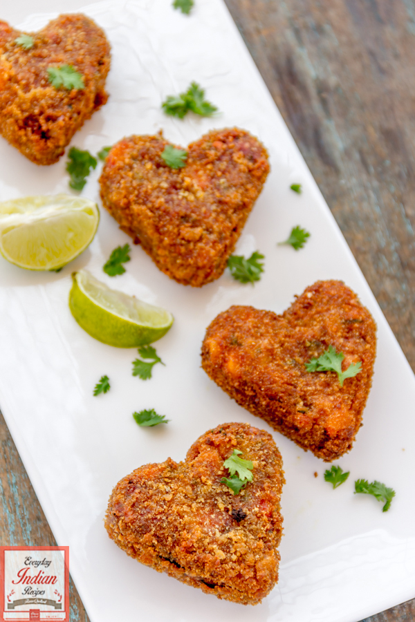 Veg cutlet easy vegetarian snacks recipe everyday indian recipes these gorgeous vegetables cutlets didnt let me sleep in peace for quite some time you are wondering why because i was not happy with the delay in sharing forumfinder Gallery