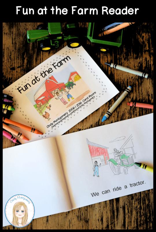 Fun at the Farm emergent reader