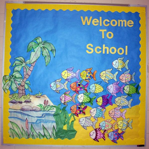 Ocean Bulletin Board: Welcome Back to School