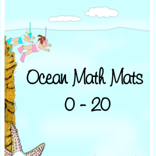 Print Your Own Ocean Math Mats 0 – 20
