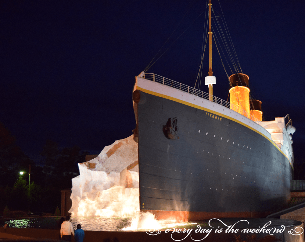 Titantic Museum l Destination: Pigeon Forge, TN