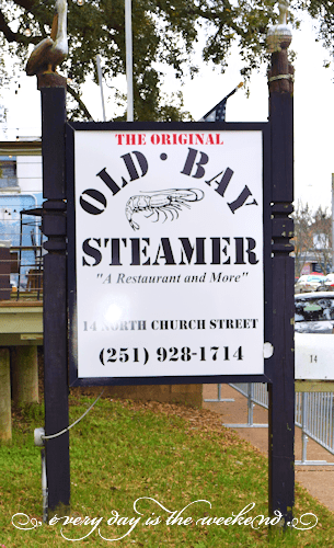 Old Bay Steamer l Destination: Fairhope, AL