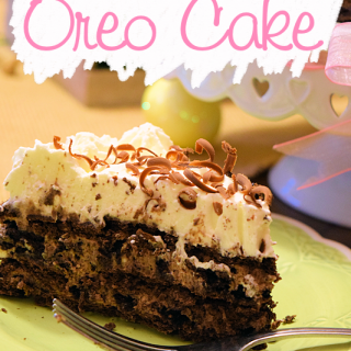 Seriously Good Oreo Cake