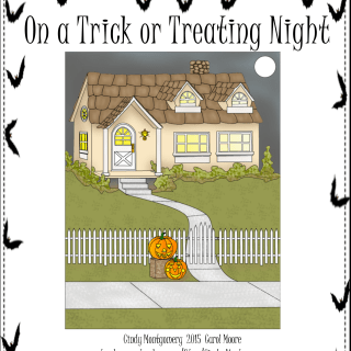 On a Trick or Treating Night Halloween emergent reader