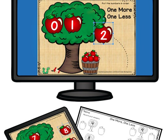 Apples One More One Less Digital Resource