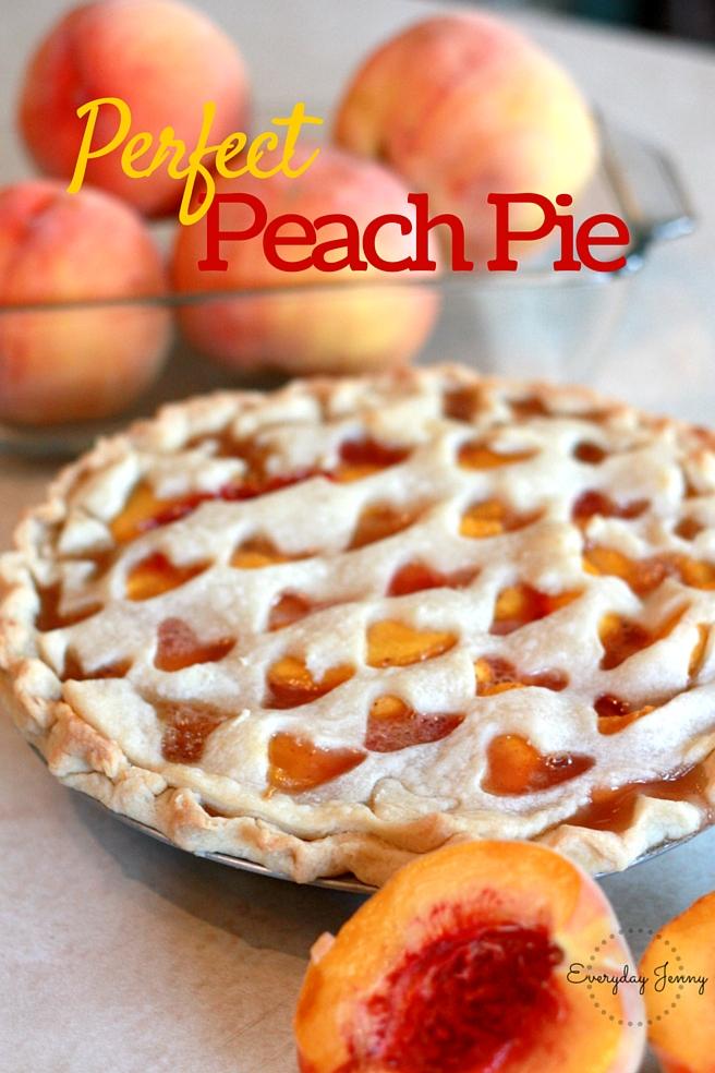 Perfect peach pie recipe