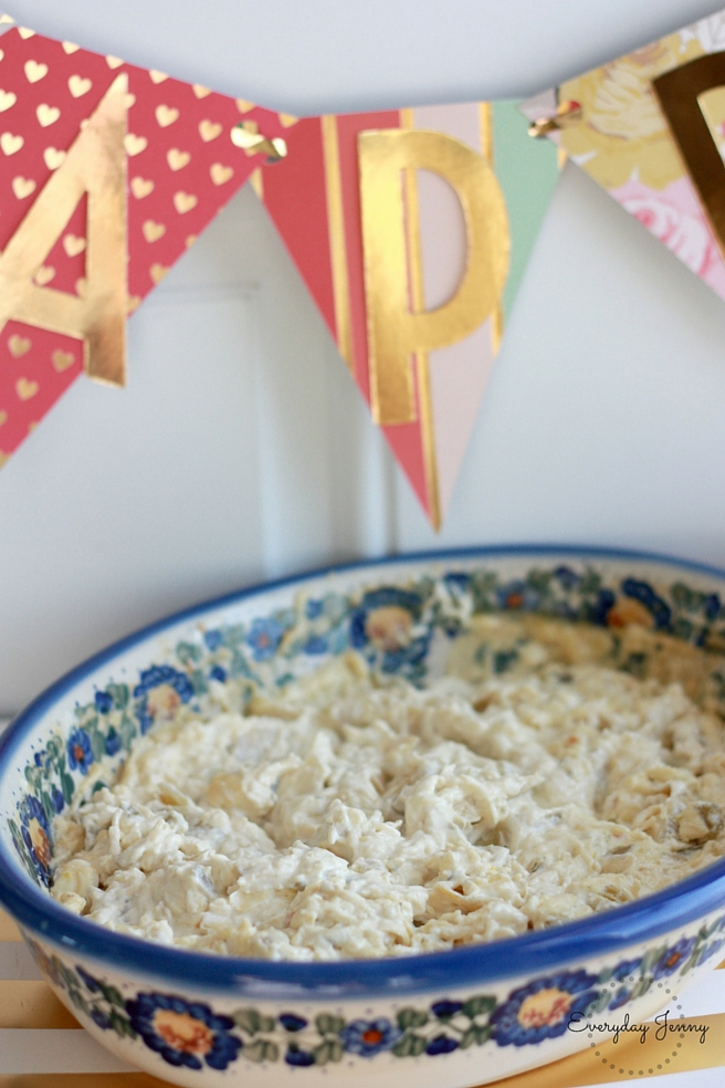Best Hot Artichoke and Green Chile Dip Banner