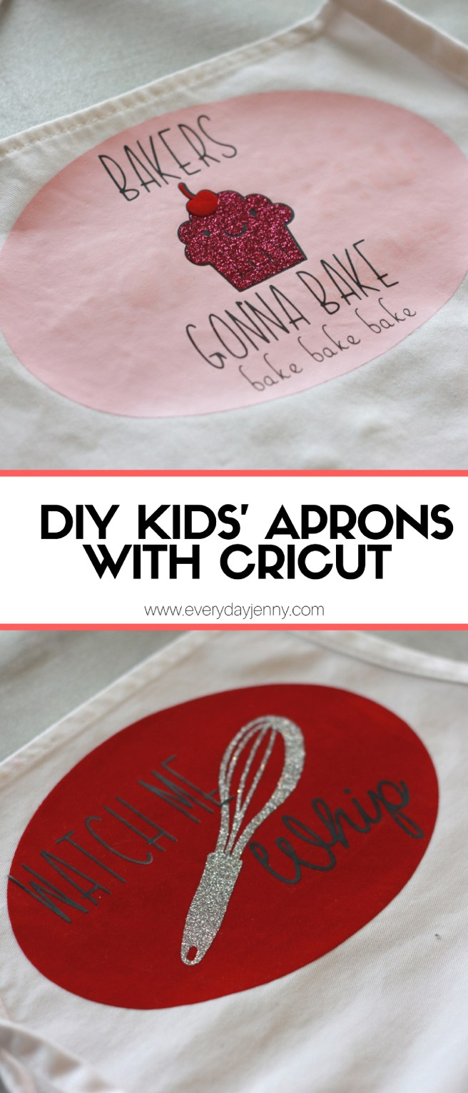 DIY Kids' Aprons With Cricut-2