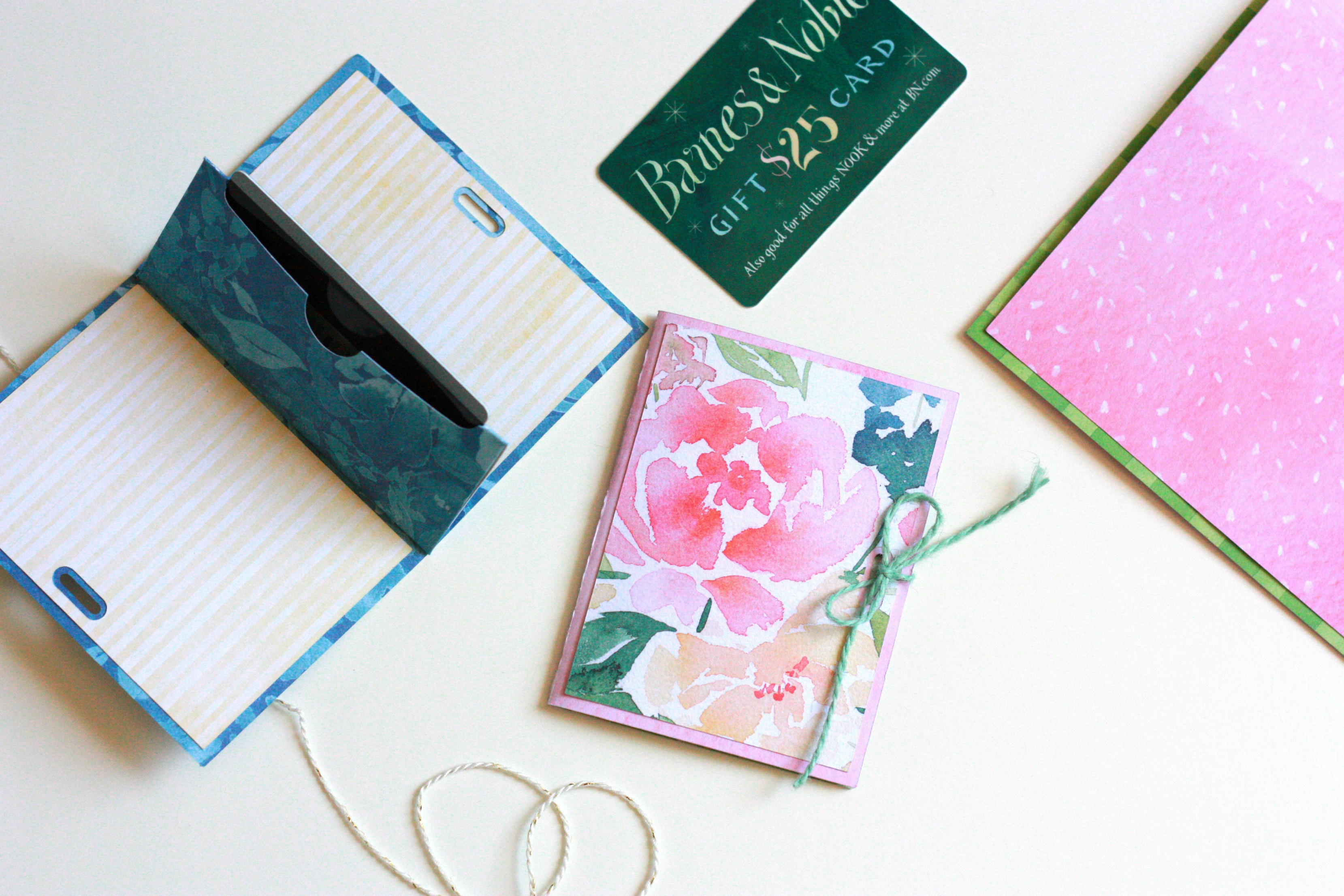 Diy gift card holder with cricut explore air 2 everyday jenny gift card holder made with cricut explore air 2 negle
