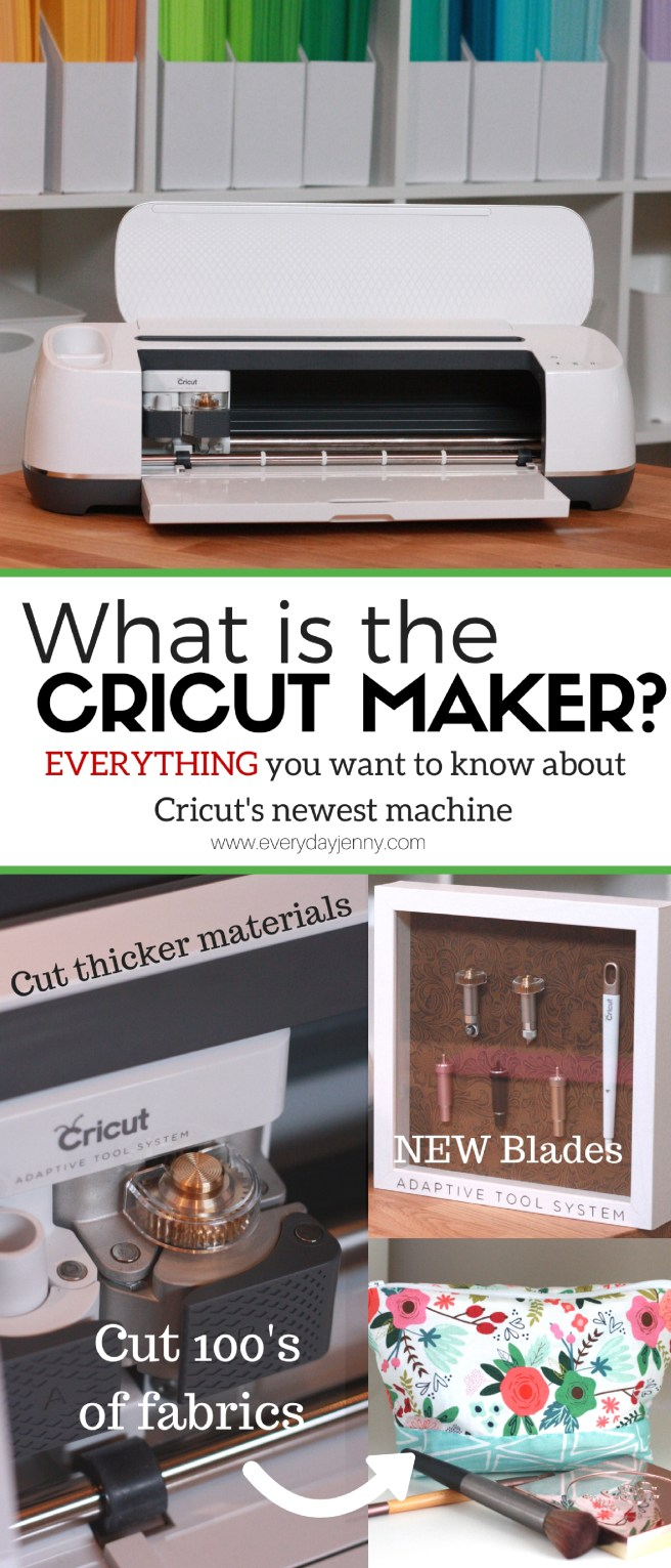 Everything you want to know about the new Cricut Maker. Questions like what is does, how it's different, when you can buy one and what is happening to the Cricut Explore. Learn all about it!