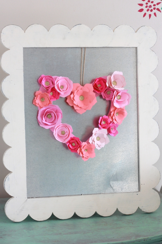 How to make paper flowers with your cricut everyday jenny beautiful paper flowers cut with the cricut mightylinksfo