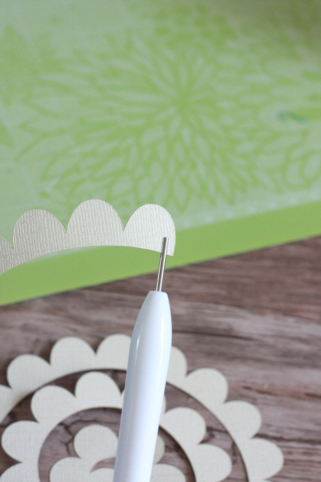 DIY FARMHOUSE SIGN WITH CRICUT PAPER FLOWERS | EVERYDAY JENNY