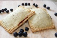 Vegan Adaptable Blueberry Poptarts
