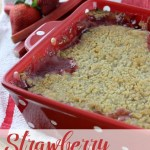 Paired with strawberries and topped with a delicious sugary crumb topping, this Strawberry Rhubarb Crumble will have you a fan in no time! Unless your already a fan and then you'll just be happy to have another scrumptious rhubarb recipe in your arsenal.   EverydayMadeFresh.com