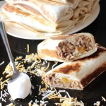 Make your own grilled stuffed burritos at home in no time flat.