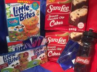Sara Lee Snacks and Entenmann's Little Bites ABC's of Back to School #Giveaway