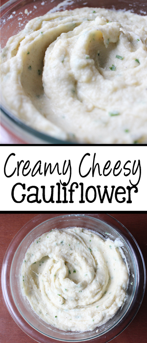 Creamy Cheesy Cauliflower