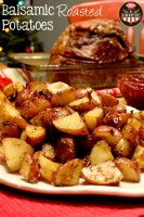 Balsamic Roasted Potatoes with Hormel Cure 81, Perfect for and Gathering