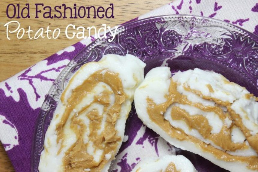 Old Fashioned Potato Candy | EverydayMadeFresh.com