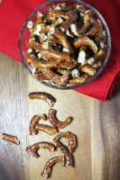 "Simple Seasoned Party Pretzels or ""Crack Pretzels"""