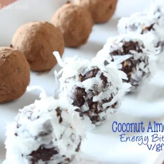 Coconut Almond Energy Bites (V/GF) and New Silk Nutchello