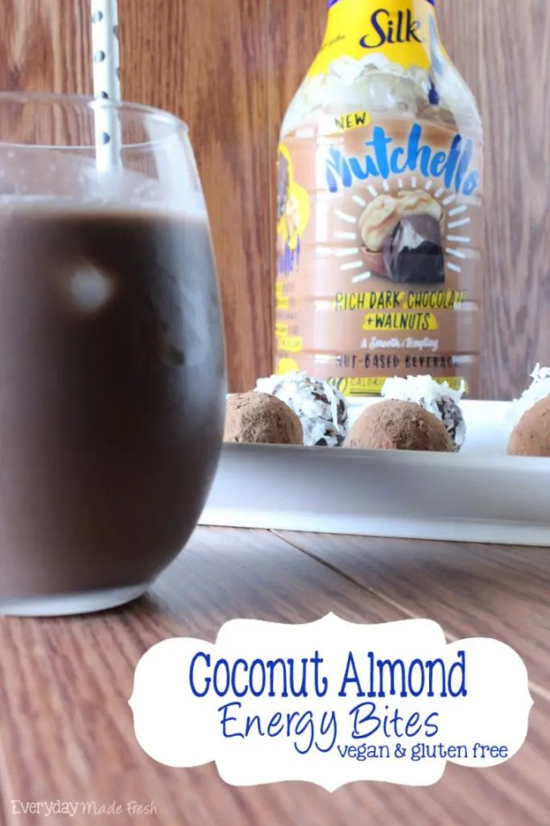 Coconut Almond Energy Bites #HelloNutchello #ad