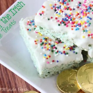 Luck of the Irish Krispie Treats