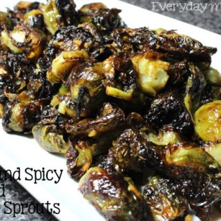 Sweet and Spicy Roasted Brussel Sprouts