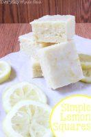 Simple Lemon Squares