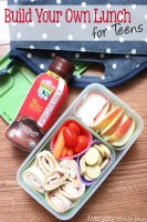 Build Your Own Lunch for Teens