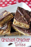 Graham Cracker Toffee